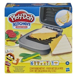 PLAY-DOH - CHEESY SANDWICH PLAYSET (E7623)