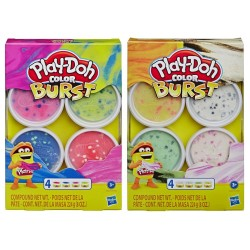 PLAY-DOH - COLOR BURST 2 ΣΧΕΔΙΑ (E6966)