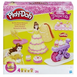 PLAY-DOH - DISNEY PRINCESS BELLE BE OUR GUEST BANQUET (B9406)
