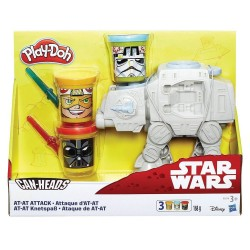 PLAY-DOH - DISNEY STAR WARS CAN HEADS AT-AT ATTACK (B5536)