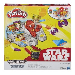 PLAY-DOH - DISNEY STAR WARS CAN HEADS MILLENIUM FALCON (B0002)