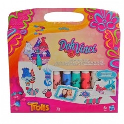 PLAY-DOH - DOHVINCI TROLLS POPPY'S CRAFTING KIT (B8983)