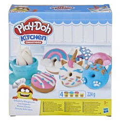 PLAY-DOH - KITCHEN CREATIONS DELIGHTFUL DONUTS (E3344)