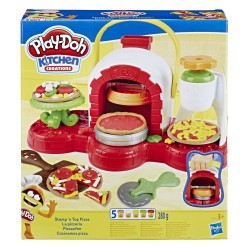 PLAY-DOH - KITCHEN CREATIONS STAMP 'N TOP PIZZA (E4576)