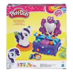 PLAY-DOH - MY LITTLE PONY RARITY STYLE & SPIN (B3400)
