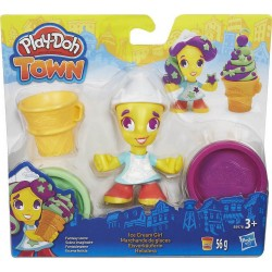 PLAY-DOH - TOWN ICE CREAM GIRL (B5960)