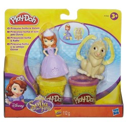 PLAY-DOH DIS PRINCESS SOFIA AND CLOVER