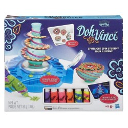 PLAY-DOH DOHVINCI SPOTLIGHT SPIN STUDIO