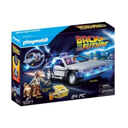 PLAYMOBIL BACK TO THE FUTURE ΣΥΛΛΕΚΤΙΚΟ ΟΧΗΜΑ ΝΤΕΛΟΡΙΑΝ (70317)
