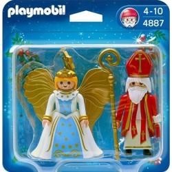 PLAYMOBIL CHRISTMAS ΑΗ ΒΑΣΙΛΗΣ ΚΑΙ ΑΓΓΕΛΟΣ (4887)
