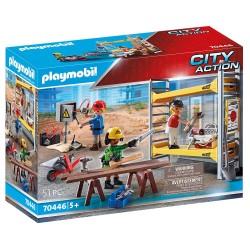 PLAYMOBIL CITY ACTION ΕΡΓΑΤΕΣ ΜΕ ΣΚΑΛΩΣΙΑ (70446)