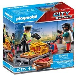PLAYMOBIL CITY ACTION ΤΕΛΩΝΕΙΑΚΟΣ ΕΛΕΓΧΟΣ (70775)