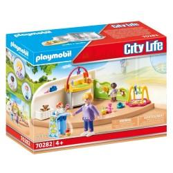 PLAYMOBIL CITY LIFE ΑΙΘΟΥΣΑ ΓΙΑ ΜΩΡΑ (70282)