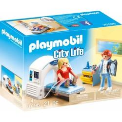 PLAYMOBIL CITY LIFE ΑΚΤΙΝΟΛΟΓΙΚΟ ΚΕΝΤΡΟ (70196)