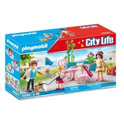 PLAYMOBIL CITY LIFE FASHION CAFE (70593)