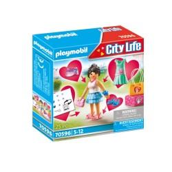 PLAYMOBIL CITY LIFE FASHION GIRL (70596)
