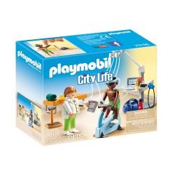 PLAYMOBIL CITY LIFE ΚΕΝΤΡΟ ΦΥΣΙΟΘΕΡΑΠΕΙΑΣ (70195)