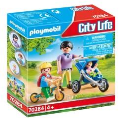 PLAYMOBIL CITY LIFE ΜΑΜΑ ΚΑΙ ΠΑΙΔΑΚΙΑ (70284)