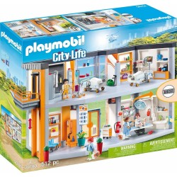 PLAYMOBIL CITY LIFE ΜΕΓΑΛΟ ΙΑΤΡΙΚΟ ΚΕΝΤΡΟ (70190)
