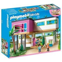 PLAYMOBIL CITY LIFE ΜΟΝΤΕΡΝΑ ΠΟΛΥΤΕΛΗΣ ΒΙΛΛΑ (5574)