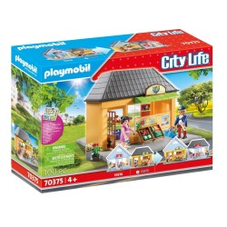 PLAYMOBIL CITY LIFE MY PRETTY PLAY-MINI MARKET (70375)