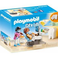 PLAYMOBIL CITY LIFE ΟΔΟΝΤΙΑΤΡΕΙΟ (70198)
