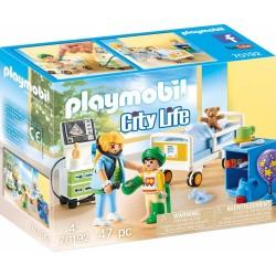 PLAYMOBIL CITY LIFE ΠΑΙΔΙΚΟ ΔΩΜΑΤΙΟ ΝΟΣΗΛΕΙΑΣ (70192)