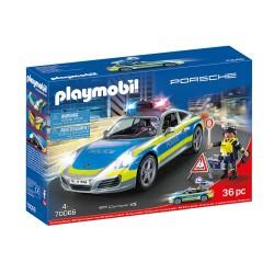 PLAYMOBIL CITY LIFE PORSCHE 911 CARRERA 4S ΑΣΤΥΝΟΜΙΚΟ ΟΧΗΜΑ (70066)