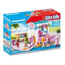 PLAYMOBIL CITY LIFE ΣΤΟΥΝΤΙΟ ΜΟΔΑΣ (70590)