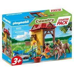 PLAYMOBIL COUNTRY STARTER PACK ΣΤΑΒΛΟΣ ΑΛΟΓΩΝ (70501)