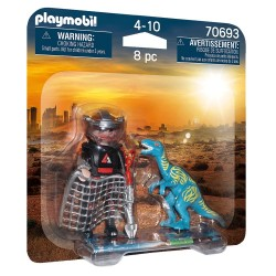 PLAYMOBIL DINO RISE DUO PACK ΒΕΛΟΣΙΡΑΠΤΟΡΑΣ ΚΑΙ ΚΥΝΗΓΟΣ ΔΕΙΝΟΣΑΥΡΩΝ (70693)