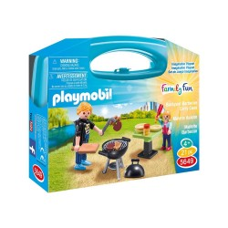 PLAYMOBIL FAMILY FUN ΒΑΛΙΤΣΑΚΙ BARBECUE (5649)