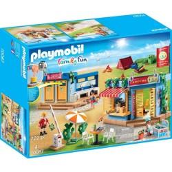 PLAYMOBIL FAMILY FUN ΜΕΓΑΛΟ ΟΡΓΑΝΩΜΕΝΟ CAMPING (70087)