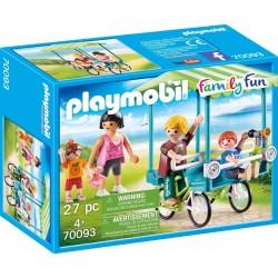 PLAYMOBIL FAMILY FUN ΟΙΚΟΓΕΝΕΙΑΚΟ ΠΟΔΗΛΑΤΟ (70093)