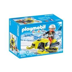 PLAYMOBIL FAMILY FUN SNOWMOBILE (9285)
