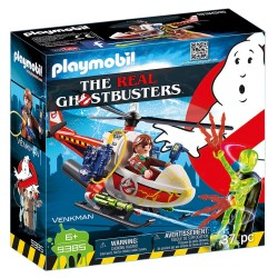 PLAYMOBIL GHOSTBUSTERS ΔΡ. ΒΕΝΚΜΑΝ ΜΕ ΕΛΙΚΟΠΤΕΡΟ (9385)