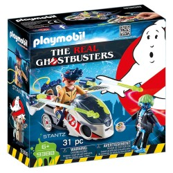 PLAYMOBIL GHOSTBUSTERS ΔΡ. ΣΤΑΝΤΖ ΜΕ SKYBIKE (9388)