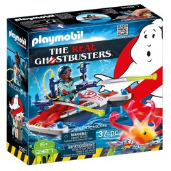 PLAYMOBIL GHOSTBUSTERS ΔΡ. ΖΕΝΤΜΟΡ ΜΕ AQUA SCOOTER (9387)