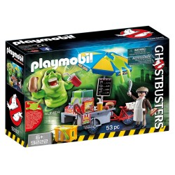 PLAYMOBIL GHOSTBUSTERS ΓΛΙΤΣΑΣ ΚΑΙ ΠΩΛΗΤΗΣ HOT DOG (9222)