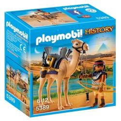PLAYMOBIL HISTORY ΑΙΓΥΠΤΙΟΣ ΠΟΛΕΜΙΣΤΗΣ ΜΕ ΚΑΜΗΛΑ (5389)