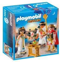 PLAYMOBIL HISTORY ΚΑΙΣΑΡΑΣ ΚΑΙ ΚΛΕΟΠΑΤΡΑ (5394)