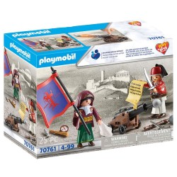 PLAYMOBIL PLAY & GIVE ΗΡΩΕΣ 1821 (70761)
