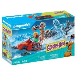 PLAYMOBIL SCOOBY-DOO! ΠΕΡΙΠΕΤΕΙΑ ΜΕ ΤΟΝ SNOW GHOST (70706)