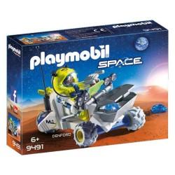 PLAYMOBIL SPACE ΤΡΙΚΥΚΛΟ ΔΙΑΣΤΗΜΙΚΩΝ ΑΠΟΣΤΟΛΩΝ (9491)