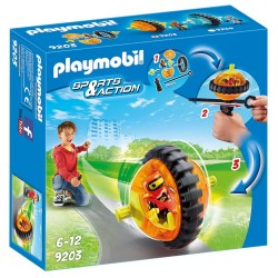 PLAYMOBIL SPORTS & ACTION ΠΟΡΤΟΚΑΛΙ SPEED ROLLER (9203)