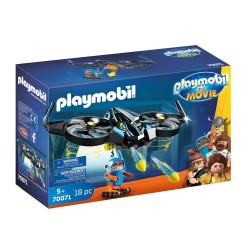 PLAYMOBIL THE MOVIE Ο ΡΟΜΠΟΤΙΤΡΟΝ ΜΕ ΤΟ DRONE ΤΟΥ (70071)