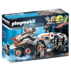 PLAYMOBIL TOP AGENTS ΘΩΡΑΚΙΣΜΕΝΟ ΟΧΗΜΑ ΤΗΣ SPY TEAM (9255)