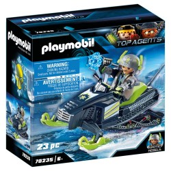 PLAYMOBIL TOP AGENTS ICE SCOOTER ΤΩΝ ARCTIC REBELS (70235)
