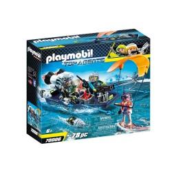 PLAYMOBIL TOP AGENTS ΤΑΧΥΠΛΟΟ ΣΚΑΦΟΣ ΤΗΣ SHARK TEAM (70006)