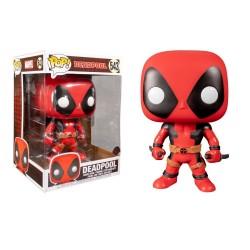 POP! HEROES: MARVEL - DEADPOOL (RED SUPER SIZED) #543
